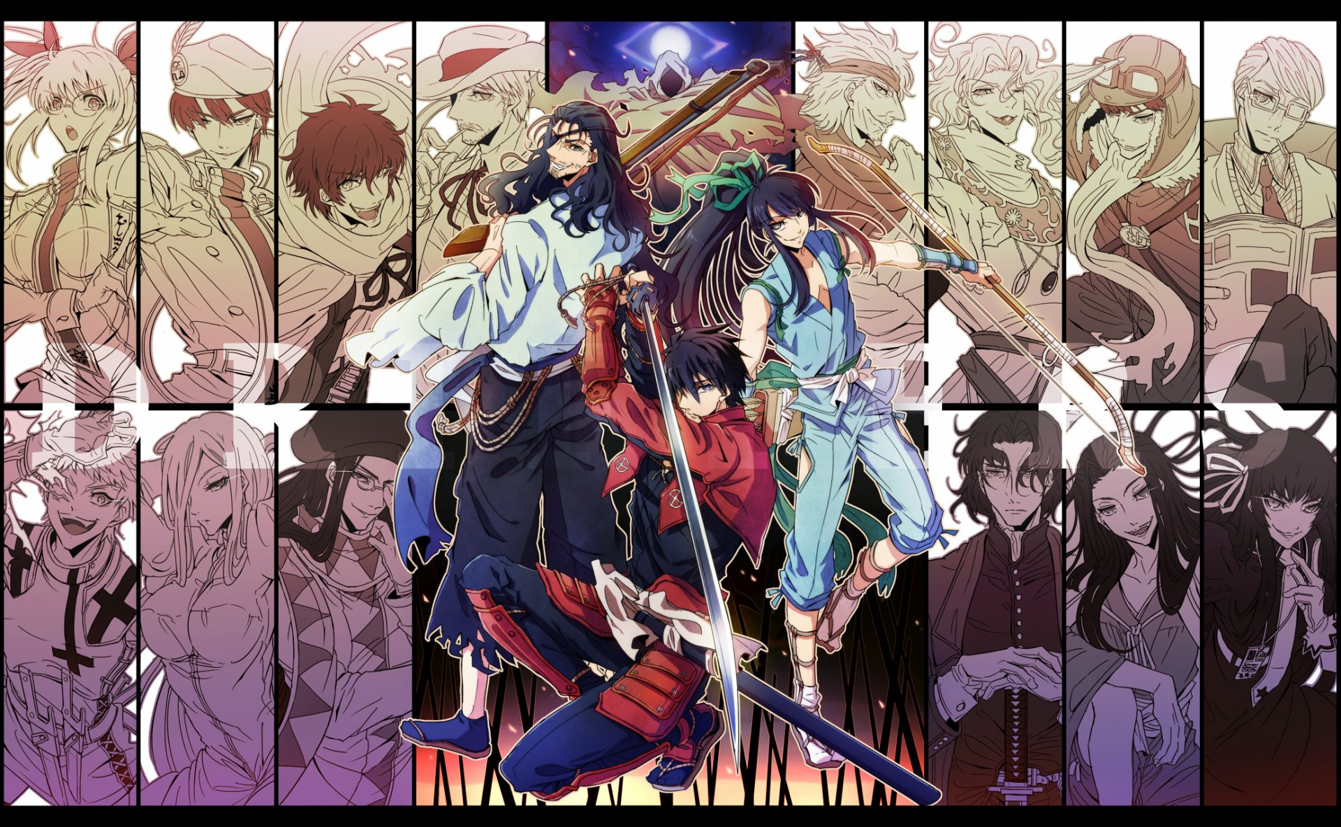 Drifters Sub Indo BD 1 - 12(END)