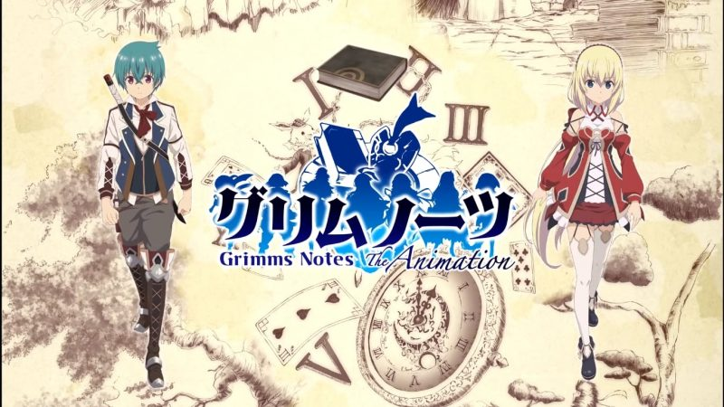 Grimms Notes The Animation Sub Indo 1 - 12(END)