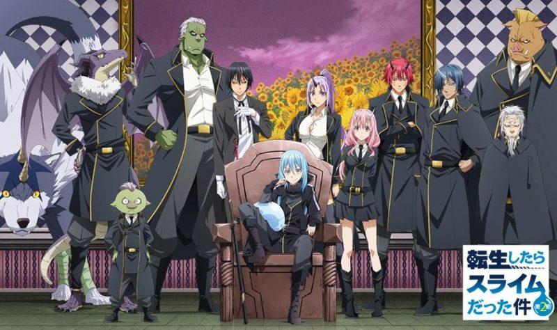 Tensei shitara Slime Datta Ken 2nd Season Part 2 Sub Indo